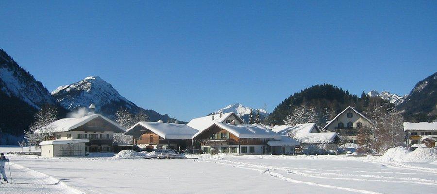 Oberammergau in Oberbayern