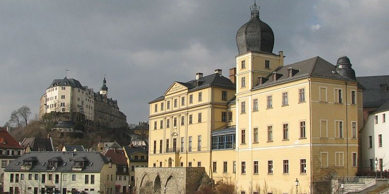 Oberes und Unteres Schloss in Greiz
