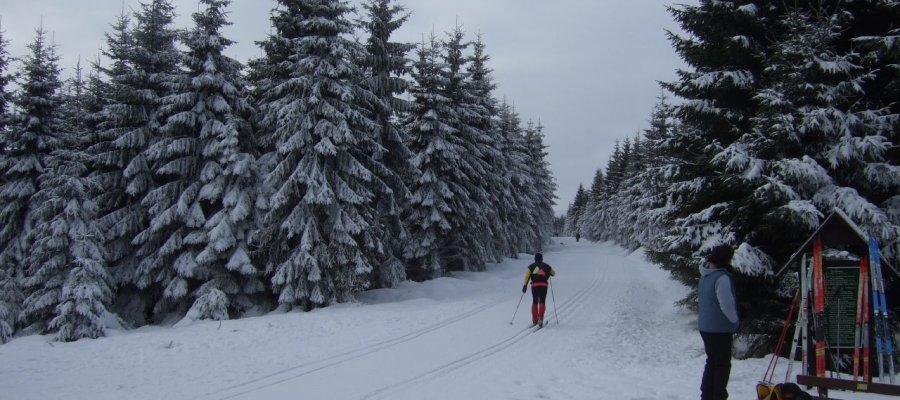 Oberhof im Thüringer Wald