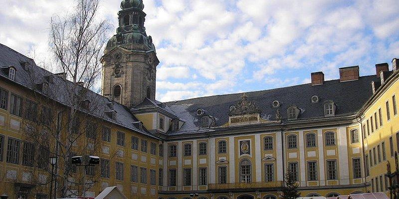 Residenzschloss Heidecksburg in Rudolstadt