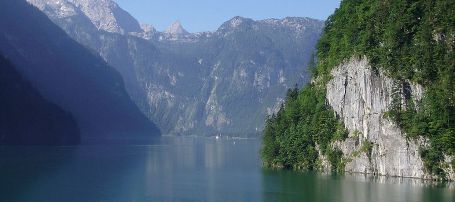 Nationalpark Berchtesgaden in Bayern